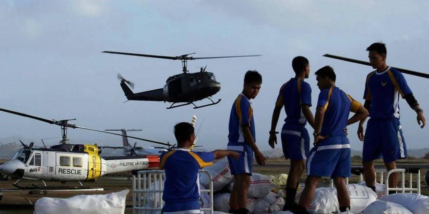 Typhon Haiyan: l'équipe B-FAST est sur place