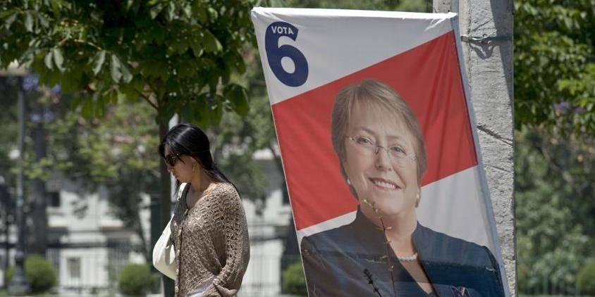 Le Chili aux urnes, Michelle Bachelet promise à un nouveau mandat