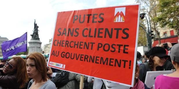 France: feu vert à la pénalisation des clients de prostituées - La Libre