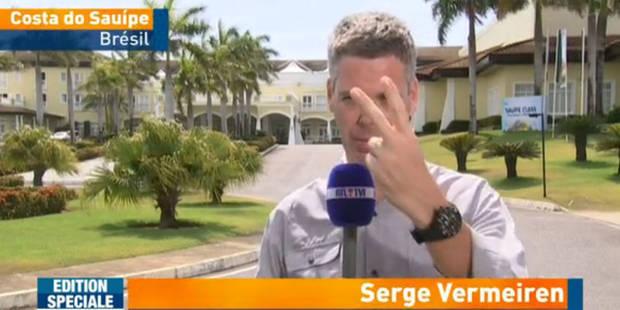 La bourde de RTL lors du faux direct de Serge Vermeiren - La Libre
