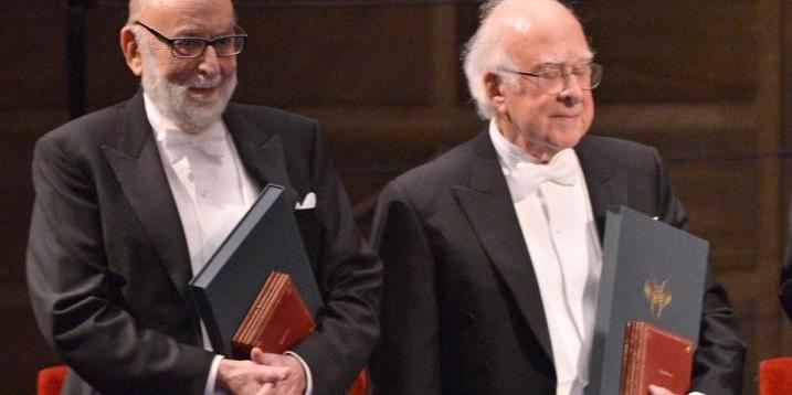 François Englert officiellement récompensé du Nobel de physique