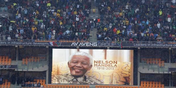Hommage à Mandela: qui a remporté la bataille des audiences? - La Libre