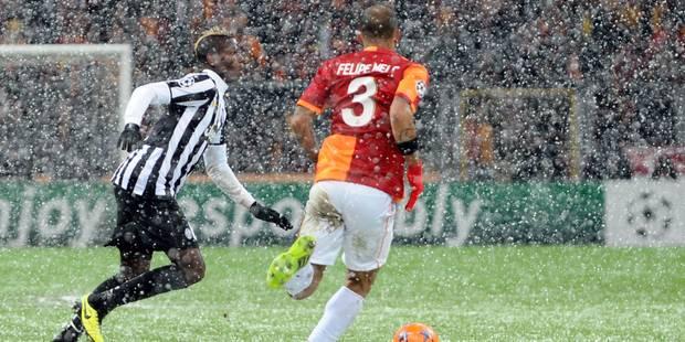 Ligue des champions: la Juventus tombe face à Galatasaray sous la neige - La Libre