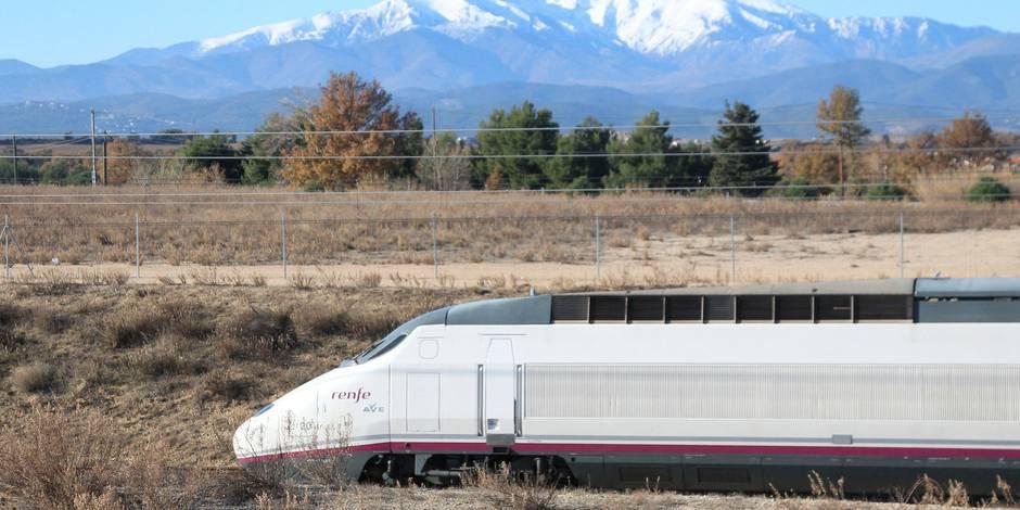 Première ligne directe de TGV entre la France et l'Espagne
