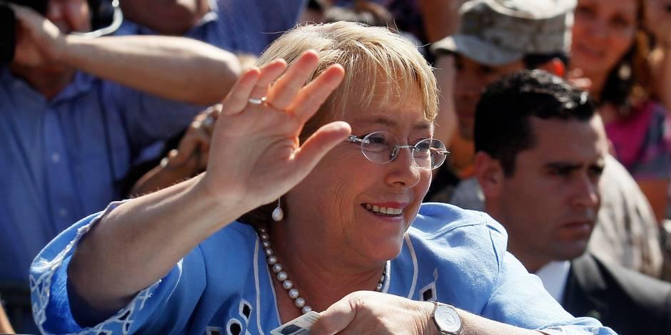 Michelle Bachelet élue à la présidence du Chili