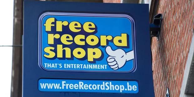 Le mobilier des magasins Free Record Shop vendu aux enchères - La Libre