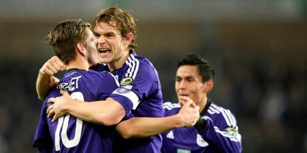 Anderlecht bat Zulte-Waregem et revient à un point du Standard (1-0) - La Libre