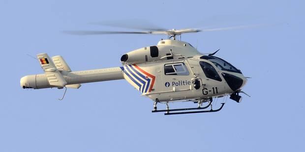 Grosse opération policière à Rhode-Saint-Genèse - La Libre