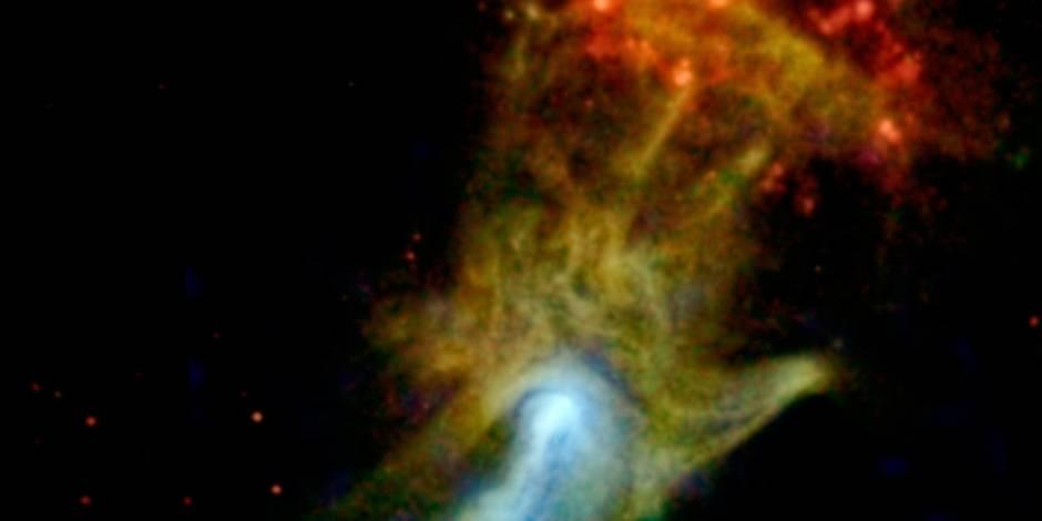 La main de Dieu photographiée