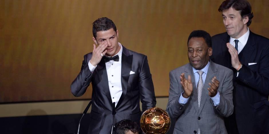 Et le Ballon d'Or est attribué à... Cristiano Ronaldo!
