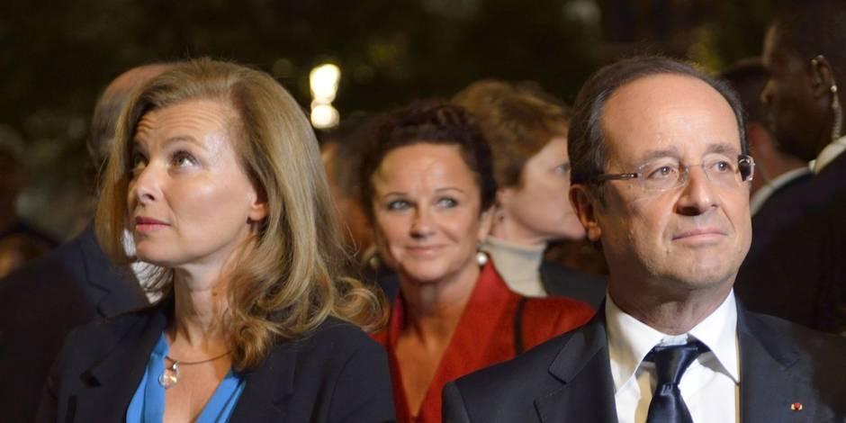 """Hollande: Valérie Trierweiler """"va mieux"""", elle """"se repose"""" à la Lanterne"""