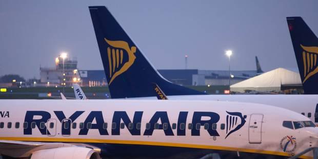 Ryanair paye les cotisations sociales belges pour ses nouveaux employés basés à Charleroi - La Libre
