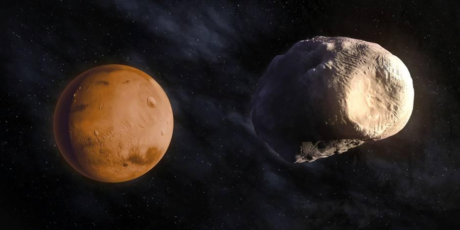 La Nasa intriguée par une mystérieuse apparition sur Mars