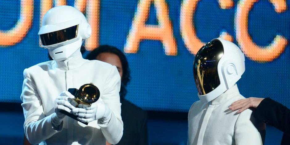 Les Daft Punk brillent aux Grammy Awards