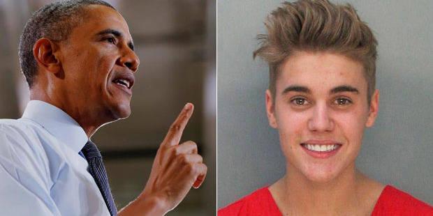 """Quand la Maison Blanche se voit contrainte de """"juger"""" Justin Bieber"""