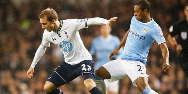 City écarte Tottenham et vire en tête - La Libre
