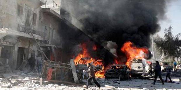 Syrie: au moins 85 morts dans des raids du régime - La Libre