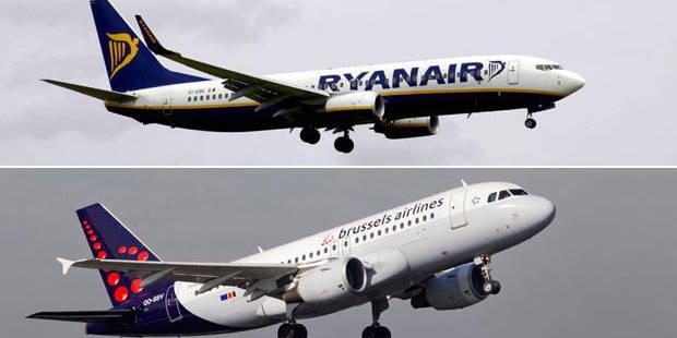 Ryanair-Brussels Airlines: qui gagnera la guerre du ciel? - La Libre
