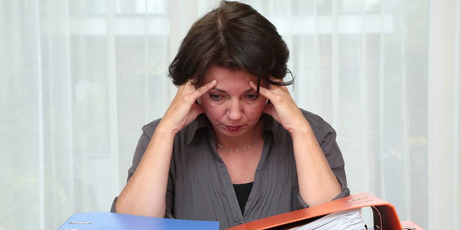 64% des Belges stressés au travail
