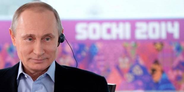 Édito: les Jeux de Poutine - La Libre