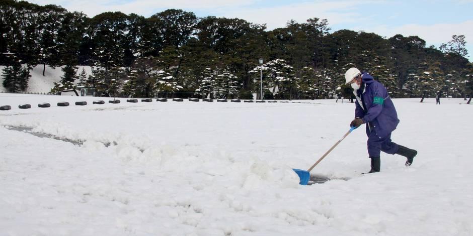Japon: tempête de neige et élections à Tokyo