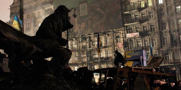 Ukraine: les manifestants ont évacué la mairie - La Libre