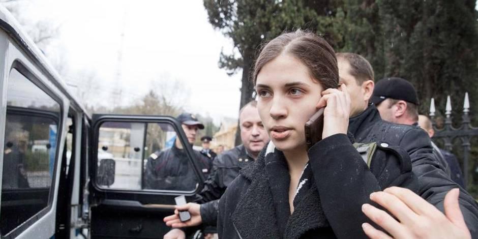Les deux Pussy Riot arrêtées à Sotchi ont été relâchées