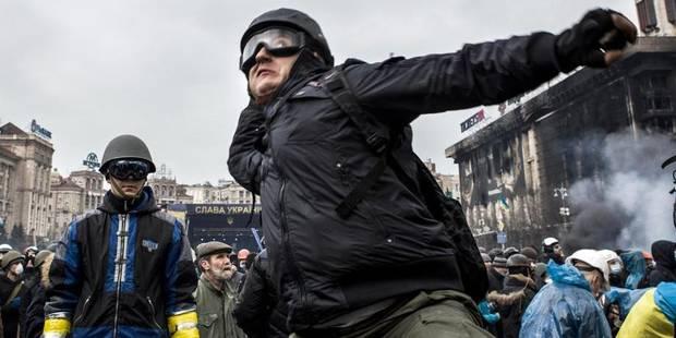 """""""Ceux qui manifestent à Kiev ont envie d'Europe"""" - La Libre"""