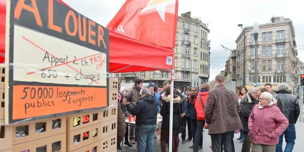 Le PTB veut 50.000 logements sociaux en région bruxelloise - La Libre