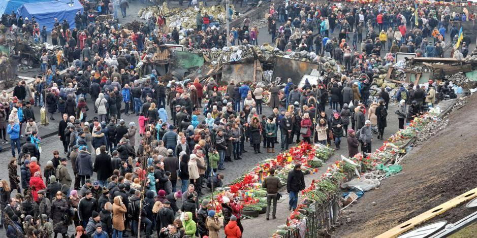 Kiev rend hommage à ses martyrs