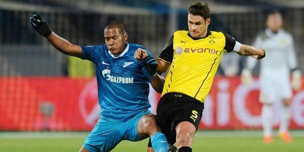 Dortmund prend une option sur les quarts au Zenit (2-4) - La Libre