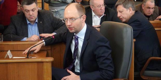 Iatseniouk, nouveau Premier ukrainien - La Libre