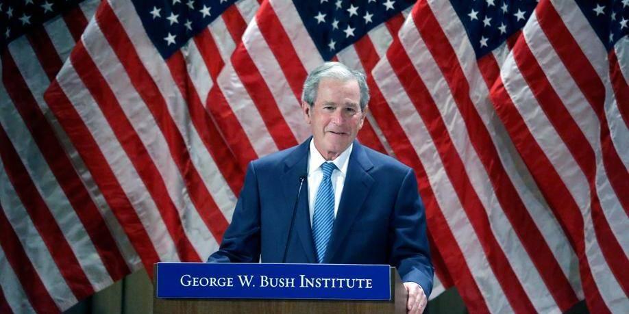 Moi, George W. Bush, peintre