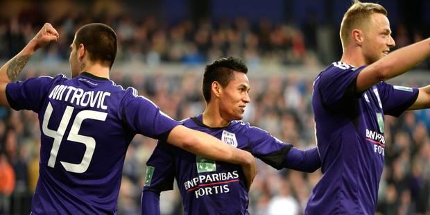 Anderlecht termine la phase classique en beauté (4-0) - La Libre