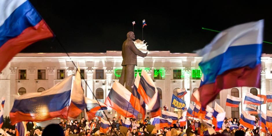 Ukraine: 96,6% des votants pour le rattachement de la Crimée à la Russie
