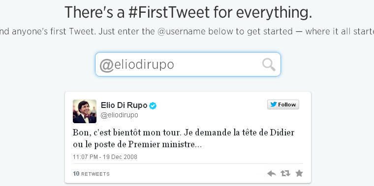 """#FirstTweet: quand le compte @Elio voulait """"la tête de Didier"""""""