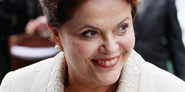 Brazilian president Dilma Roussef attends the opening of the 23rd edition of the Europalia arts exhibition at the Center for Fine Arts (Paleis voor Schone Kunsten) in Brussels, Belgium, 4 October 2011. Theme of this year is Brazil. Photo: Patrick van Katwijk Reporters / DPA