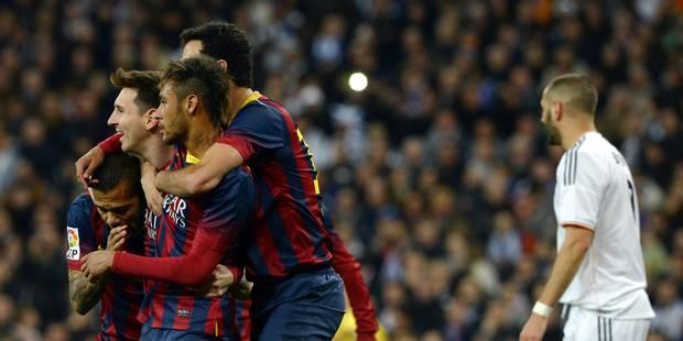 Barcelone met le Real Madrid à terre (3-4) - La Libre