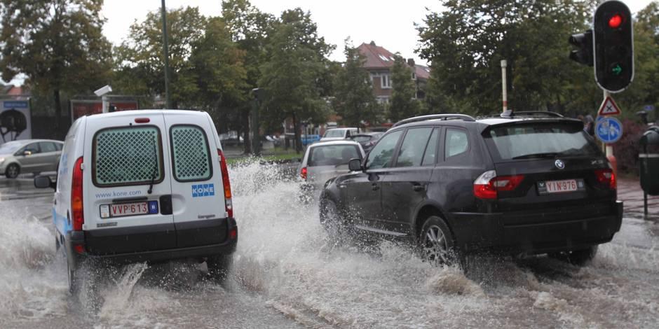 En Belgique, les pluies extrêmes vont devenir monnaie courante