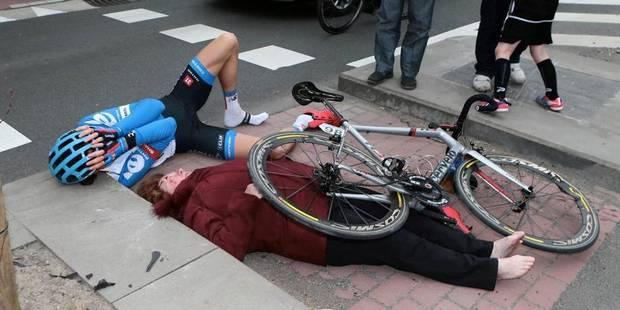 Accident au tour des Flandres: Vansummeren est-il en faute? - La Libre