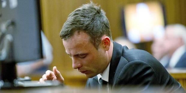 """Pistorius: """"Sans même m'en rendre compte, j'avais tiré quatre coups de feu"""" - La Libre"""