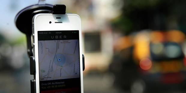 Taxis bruxellois: la Justice ordonne à Uber de cesser ses activités - La Libre