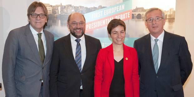 Les candidats à la présidence de la Commission européenne ont croisé le fer - La Libre