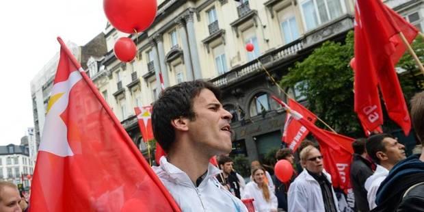5.000 personnes au rassemblement de la FGTB à Bruxelles - La Libre