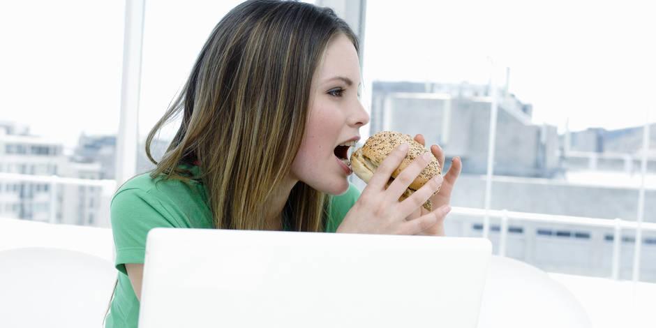 10 trucs pour manger et grignoter au travail