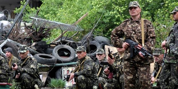 Ukraine: vingt rebelles et un policier tués à Marioupol - La Libre