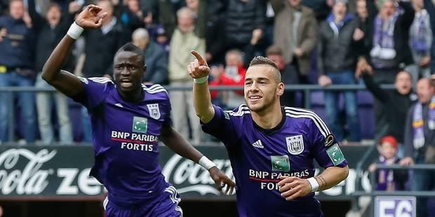 Anderlecht lamine Genk (4-0) et prend la première place du classement - La Libre