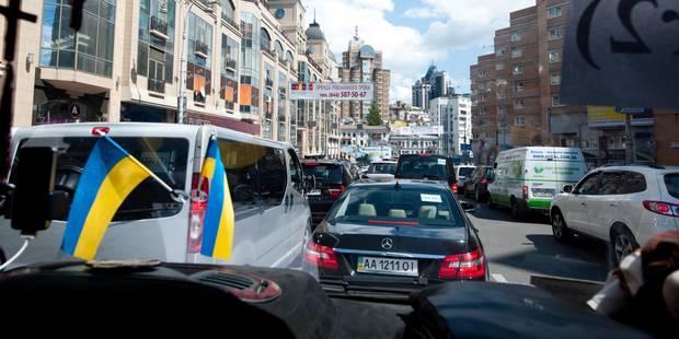 L'Ukraine sous la menace d'une profonde récession - La Libre