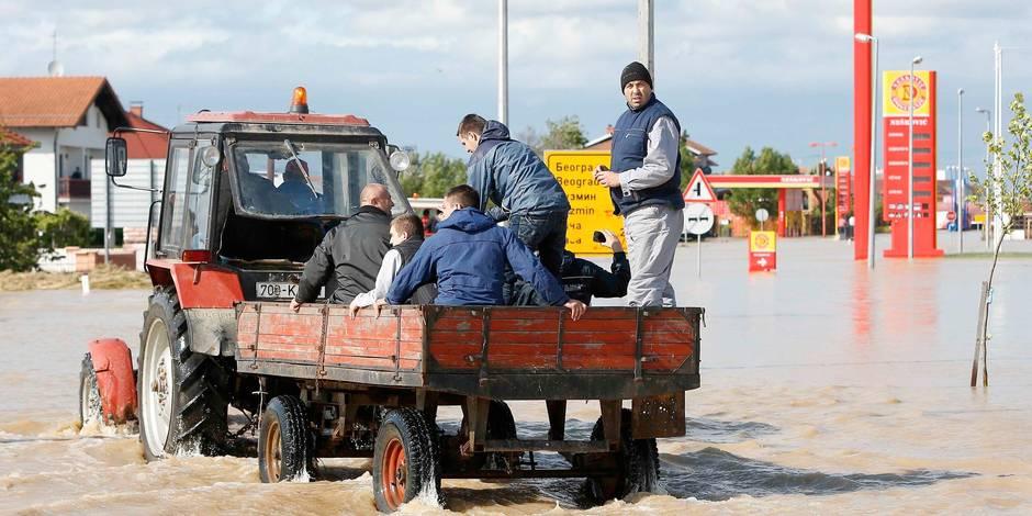 Inondations en Bosnie: la Belgique envoie une mission de B-FAST