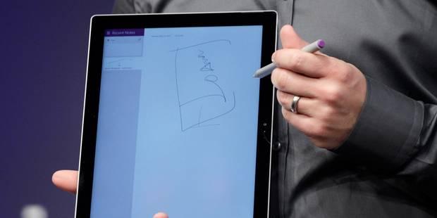 Microsoft prend le contrepied du marché avec une tablette encore plus grande - La Libre